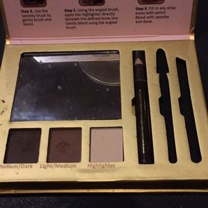 Sugar best in brows in gold compact with mirror